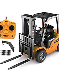 HuiNa 1577 Forklift Alloy Metal Plastic 2.4G 8CH RC Truck Car