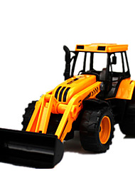 cheap -Beach Toy Pull Back Vehicle Pull Back Car / Inertia Car Construction Truck Set Dozer Simulation Novelty Classic & Timeless Boys'