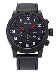 cheap -Men's Dress Watch Fashion Watch Wrist watch Mechanical Watch Sport Watch Quartz Genuine Leather Band Charm Casual Multi-Colored