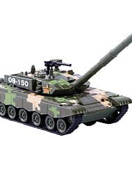 Недорогие -Игрушечные машинки Игрушки Военная техника Игрушки Выдвижной Танк Металлический сплав пластик Металл Классический и неустаревающий