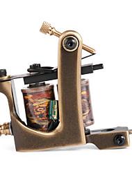 solong Tätowierung benutzerdefinierte Messing Tattoo Maschinengewehr 12 Wrap handgefertigt aus reinem Kupfer-Spulen für Shader m203-2