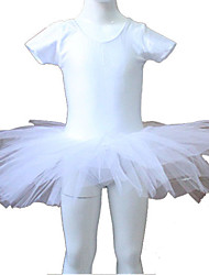 cheap -Nylon/Lycra Short Sleeve Leotard Tutus More Colors for Ladies and Girls
