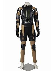 Costumes de Cosplay Bal Masqué Pour Halloween Costume de Soirée Superhéros Cosplay Cosplay de Film Manteau Pantalon Gants Ceinture Plus