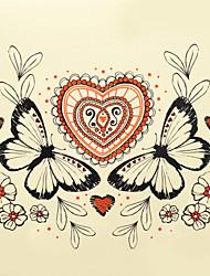Недорогие -1шт Хэллоуин татуировки пасты цвет татуировки наклейки большую версию водонепроницаемым животных 002 #