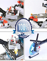 cheap -Building Blocks Toys Ship Professional Level Extra Large Silica Gel Boys' 1745 Pieces