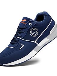 Hiking Shoes Men's Athletic Shoes Light Soles Tulle Spring Summer Athletic  Light Soles Flat Heel Blue/Black Black/Red Flat