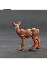 cheap -Pretend Play Toys Horse Lion Zebra Elk Deer Animals Novelty Plastic Boys' Pieces