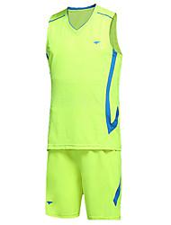 Unisex Calcio Shorts + Set di vestiti/Completi Traspirante Comodo Primavera Autunno Classico Attività ricreative CalcioBianco Nero Rosso