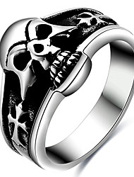 Men's Statement Rings Ring Costume Jewelry Titanium Steel Jewelry For Party Daily Casual