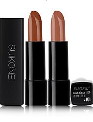 2017 New Arrival Beauty Matte Lipstick Long Lasting Tint Lips Cosmetics Lipgloss Maquiagem Makeup Red Batom
