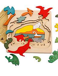 Недорогие -Пазлы Оригинальные деревянный Мальчики Девочки Игрушки Подарок