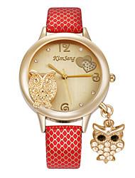 cheap -Women's Wrist Watch / Simulated Diamond Watch Imitation Diamond Alloy Band Heart shape / Casual / Cartoon Multi-Colored / Stainless Steel