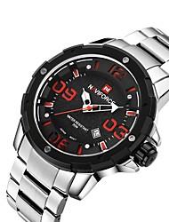 Pánské Sportovní hodinky Módní hodinky Náramkové hodinky Křemenný Slitina Kapela Běžné nošení Vícebarevný