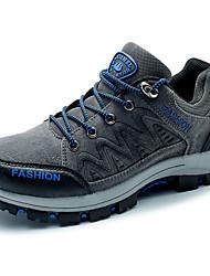 economico -Da uomo-scarpe da ginnastica-Sportivo-Comoda-Piatto-Di pelle-Grigio Kaki Verde scuro