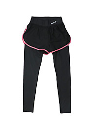 Women's Running Pants Quick Dry Breathable Bottoms for Yoga Exercise & Fitness Running Modal Polyester Tight Black Gray Purple Fuchsia