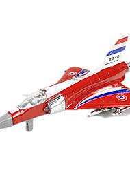 abordables -Aviones y helicópteros Empujar y jalar algún juguete 1:10 Metal Blanco Azul Gris