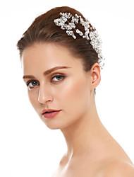 cristal strass cheveux broche casque classique style féminin
