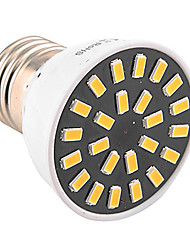 abordables -1pc 4W 400-500lm E26 / E27 Focos LED MR16 24 Cuentas LED SMD 5733 Decorativa Blanco Cálido Blanco Fresco 110-130V 220-240V