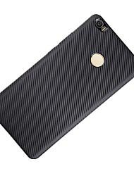 Für Stoßresistent Hülle Rückseitenabdeckung Hülle Einheitliche Farbe Weich Karbon für XiaomiXiaomi Mi Max Xiaomi Redmi 3 Xiaomi Redmi