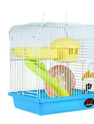 cheap -Hamster Plastic Cages Yellow Coffee Red Blue