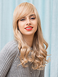 Attractive Layered Beautiful Long Capless Wigs Natural Wave Human Hair 2017