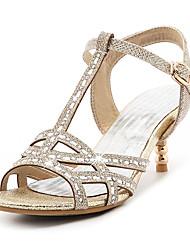 economico -Da donna Sandali Cinturino Cinturino alla caviglia Club Shoes Lustrini Materiali personalizzati Primavera Estate AutunnoMatrimonio