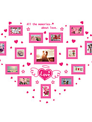 Wall Stickers Wall Decals Style Romantic Photograph PVC Wall Stickers