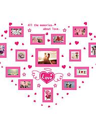 Romanticismo Moda Forma Adesivi murali Adesivi aereo da parete Adesivi decorativi da parete Adesivi foto,Vinile MaterialeDecorazioni per
