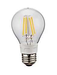 E26 LED Filament Bulbs A60(A19) 4 COB 750 lm Cold White 6500 K AC 110-130 V