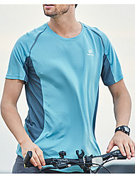 Women's Unisex Hiking T-shirt Quick Dry Sweat-wicking Top for Leisure Sports Summer M L XL