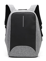 cheap -Men's Bags Nylon Backpack Zipper Blue / Black / Gray