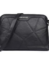 cheap -Women Bags PU Crossbody Bag for Casual All Seasons Blue Black Gray Dark Green Wine