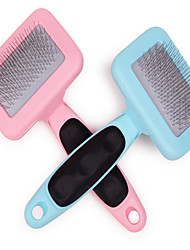 cheap -Cat Dog Grooming Cleaning Comb Brush Waterproof Rainbow