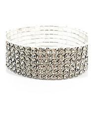 Недорогие -женский эластичный rhinestone bridal браслет ювелирных изделий шикарный тип