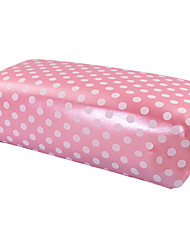1PCS Pink Hand Cushion Pillow Nail Art Manicure Rectangular