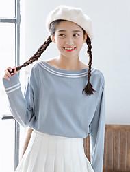 segno porta Dongguk di copertura maglione nuovo collare che basa la camicia femmina Navy vento