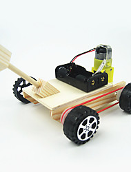 cheap -Toy Car Tank Chariot Creative Electric DIY Cool Wooden Metalic Plastic Boys' Kid's Gift 1pcs