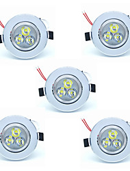 cheap -5pcs 3W Led Ceilling Lamp 300lm Warm/Cool White Color Led Recessed Downlights for Home and Hotel 220-240V