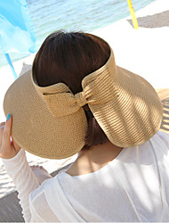 cheap -Women's Fashion Wide Large Brim Floppy Straw Hat Sun Hat Beach Cap Vintage Casual Summer Holiday
