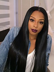 New Style 8A Brazilian Vrigin Human Hair  Full Lace Human Hair Wig For Woman Silky Straight Human Hair Wigs With Baby Hair Full Lace Wig