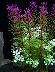 cheap -Aquarium Decoration Waterplant Non-toxic & Tasteless Plastic