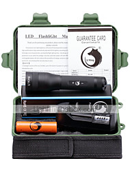 U'King LED Flashlights/Torch Flashlight Kits LED 3000 Lumens 5 Mode Cree XM-L L2 Yes Adjustable Focus for Camping/Hiking/Caving Everyday