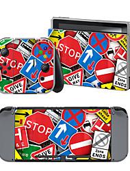 abordables -B-SKIN Nintendo Switch / NS Autocollant Pour Nintendo Commutateur ,  Portable / Nouveautés Autocollant Vinyle 1 pcs unité