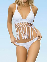 billige Badedrakter og bikinier-Dame Grime Bikini Ensfarget