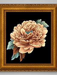cheap -New Crafts Needlework 3D Diamond Painting Peony Flowers Cross Stitch Diy Diamond Drawing Picture Rhinestones Embroidery Crystals