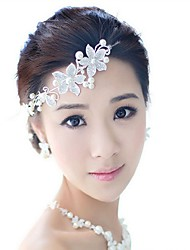 Silver Plated Head Chain,Party Imitation Pearl Rhinestone All Seasons