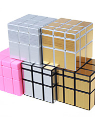 cheap -Rubik's Cube Shengshou Mirror Cube 3*3*3 Smooth Speed Cube Magic Cube Puzzle Cube Smooth Sticker Professional Level Speed ABS Square New
