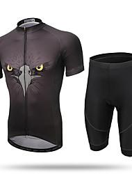 Недорогие -XINTOWN Велокофты и велошорты Муж. С короткими рукавами Велоспорт Брюки Джерси Шорты Верхняя часть Одежда для велоспорта Быстровысыхающий