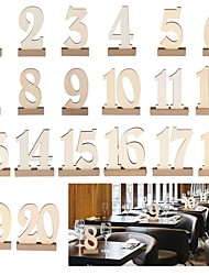 cheap -Anniversary Birthday Engagement Wedding Party Wood Wedding Decorations Garden Theme Classic Theme Winter Spring Summer Fall