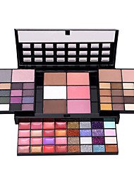 preiswerte -Lidschattenpalette Trocken Lidschatten-Palette Puder NormalSmokey Makeup Alltag Make-up Halloween Make-up Party Make-up Feen Makeup